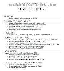 resume for high school student resumes for high schoolers free resume sles for high school