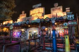 photo california disneyland usa route 66 hdr parks night cities