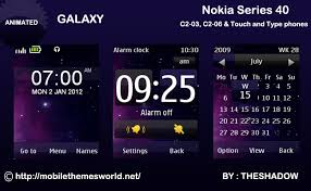 themes for nokia c2 touch and type download galaxy theme for nokia c2 03 c2 06 x3 02