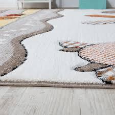 teppich kinderzimmer teppich stern 140x200 grau kinderzimmerteppich punkte helles grau