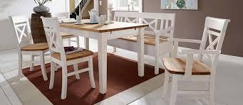 esszimmer weiß landhausmöbel esstische stühle und kastenmöbel in 5