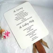 Rustic Wedding Program Fans Wedding Fans Personalized Wedding Program Fans Rustic Custom Blush