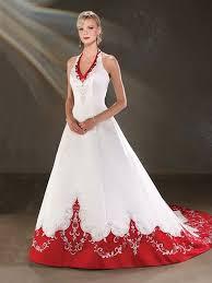 brautkleid rot rote brautkleider hochzeitskleid rot günstig - Brautkleider Rot Weiãÿ