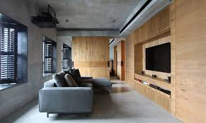 Living Room Design Photos Hong Kong West Kowloon Private Apartment In Hong Kong By Edge Design