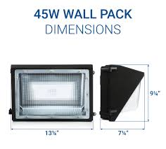 Led Outdoor Wall Pack Lighting Led Wall Packs Outdoor Wall Pack Lighting
