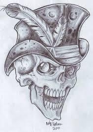 bg skull 2 by vikingtattoo on deviantart
