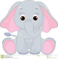 cute pink elephant clipart clipartxtras