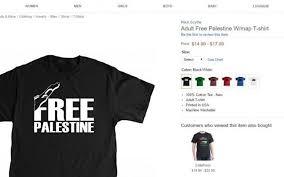 amazon black friday at sears amazon selling u0027free palestine u0027 clothes after sears and walmart