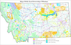 Montana State Map Ftp Geoinfo Msl Mt Gov Documents Maps Individual