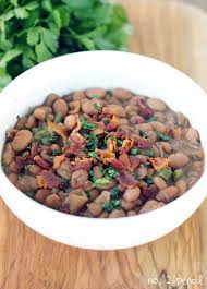 mexican style beans with bacon and jalapeno no 2 pencil