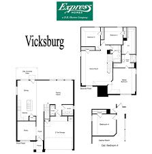 Dr Horton Home Floor Plans Vicksburg Remington Park Ponder Texas D R Horton