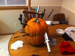 Pumpkin Meme - so my friend decided hed give pumpkin carving a go meme guy