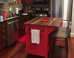 kitchen islands with storage and seating kitchen island etsy