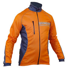thermal cycling jacket impsport u0027polar u0027 winter cycling jacket flo orange grey