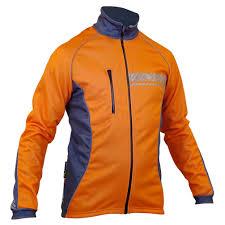 impsport u0027polar u0027 winter cycling jacket flo orange grey