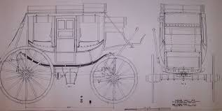 plan concord stage coach 1848 madera pinterest stage coach