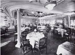 Titanic First Class Dining Room 260 Best Ocean Liners Images On Pinterest Cruises Cruise Ships