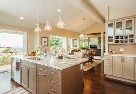 sink in kitchen island kitchen island with sink and dishwasher kitchen transitional with