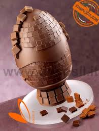 mosaic egg molds for easter decorations