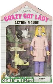 Cat Lady Meme - com accoutrements crazy cat lady action figure set toys games
