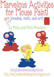 mouse paint pack mouse paint mouse paint activities and sentences