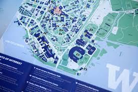 University Of Washington Map Nick Bolton Design Uw Visitor Guide