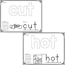 basic outlines cvc word mats basic outlines life over cs