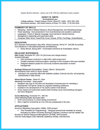 Resume Samples Marketing by Sport Management Resume Resume For Your Job Application