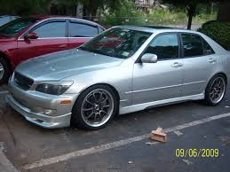 lexus is300 silver lexus is300 silver 5 rides styling