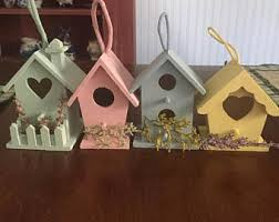 decorative birdhouse etsy