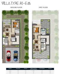 villa floor plans damac hajar villas floor plans
