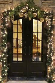 garland around door frame so pretty ideas