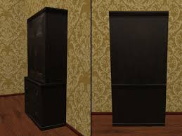 second life marketplace re old wood ebony cupboard vintage