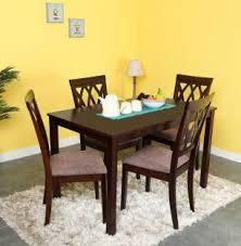 nilkamal kitchen furniture home by nilkamal peak solid wood 4 seater dining set price in