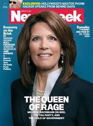 Michele Bachmann  Tina Brown  and the reinvention of Newsweek