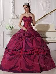 burgundy quince dresses sweetheart appilques burgundy ups sweet 16 quinceanera dress