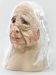 Wookie Halloween Costume Woman Overhead Rubber Mask U0026 White Hair Fancy