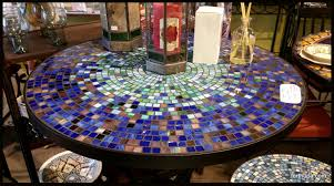 Mosaic Patio Tables Tile And Glass Mosaic Tables