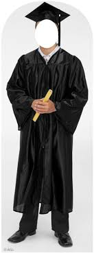 black cap and gown graduate black cap and gown stand in 899
