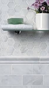 Bathroom Tile Wall Hexagon Tile Bathroom Ideas Kitchen Design Kitchen Design