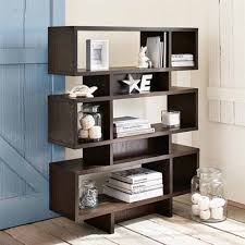 Bookcase Storage Units Furniture Attractive Bookshelf Ideas For Small Spaces Kropyok
