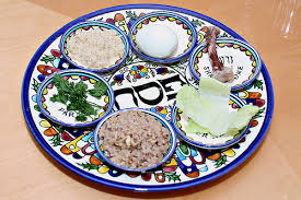 traditional seder plate seder plate the passover seder hebrew ס ד ר ˈsedeʁ order