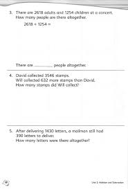 sample maths worksheet for kids