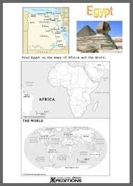 learning together find egypt worksheet