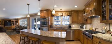 kitchen beautiful single story open floor plans very small