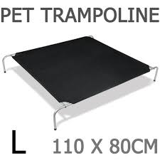 extra large dog trampoline bed graysonline