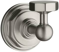 Freestanding Bathroom Accessories by Kohler K 13113 Cp Pinstripe Robe Hook Polished Chrome Bath
