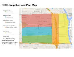 West Chicago Map by The Neighborhood Plan Neighbors Of West Loop