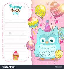card owl card template
