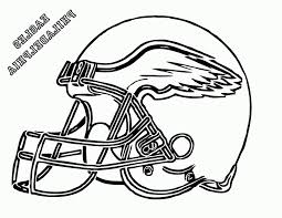 football helmet coloring pages eagles 492209 coloring pages for